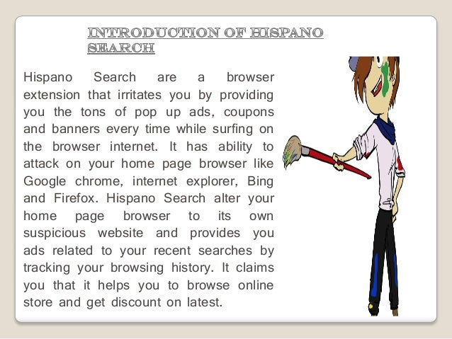 How to Block Hispano Search from PC Slide 3