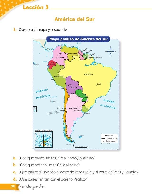 Hist Geoycienciassociales Segundobasico 2015pdf: Mapa Politico De America Con La Rosa Delos Vientos At Usa Maps