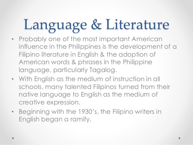 japanese influence philippine literature English can to a halt except for the tribune and the philippine review, almost all newspapers in english were stopped by the japanese the weekly liwayway was placed under strict surveillance until it was managed by a japanese named ishiwara this had an advantageous effect of filipino literature.