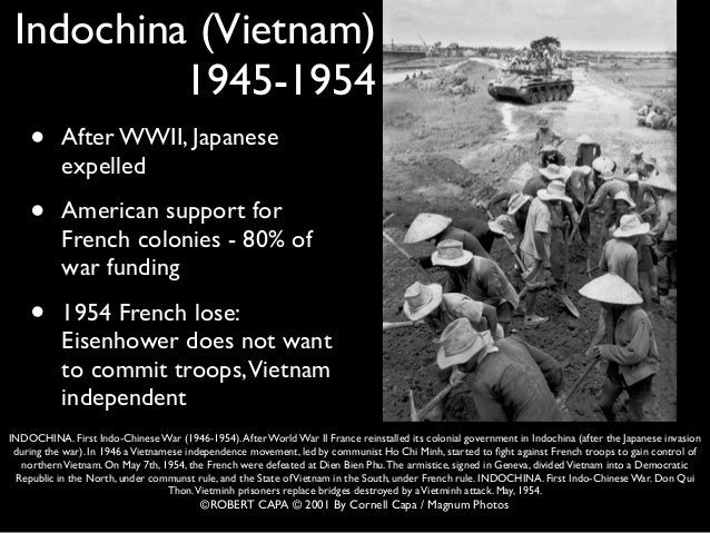 The vietnam war movement and its influence on the modern generation