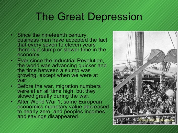 ww2 the great depression Timelines of the great depression: this page features two timelines: the first for general events of the roaring 20s and the great depression, the.