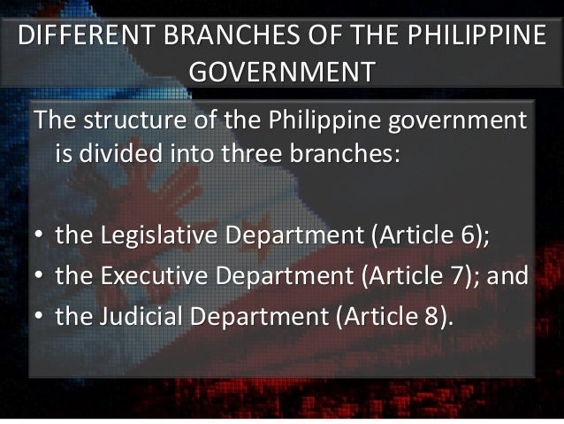the bureaucracy in the philippines Himself a lawyer, gordon conceded the public shaming of government officials involved in alleged corruption does not serve the ends of justice.