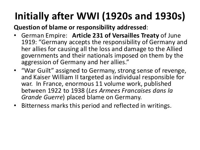fischer thesis world war i Fritz fischer thesis world war 1 world power or decline: the controversy over germany s aims in the first world war by fritz fi  nbsp.