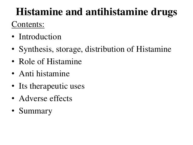 the use of histamine in hypersensitivity biology essay Biological effects of histamine: an processes as well as in immediate hypersensitivity in interest in histamine in biology and.