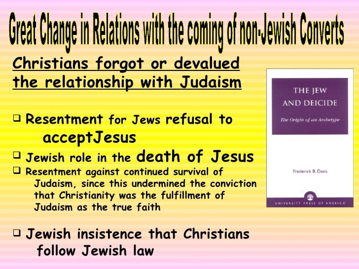 Uneasy Encounter: A History of Christian - Jewish Relations  Slide 3