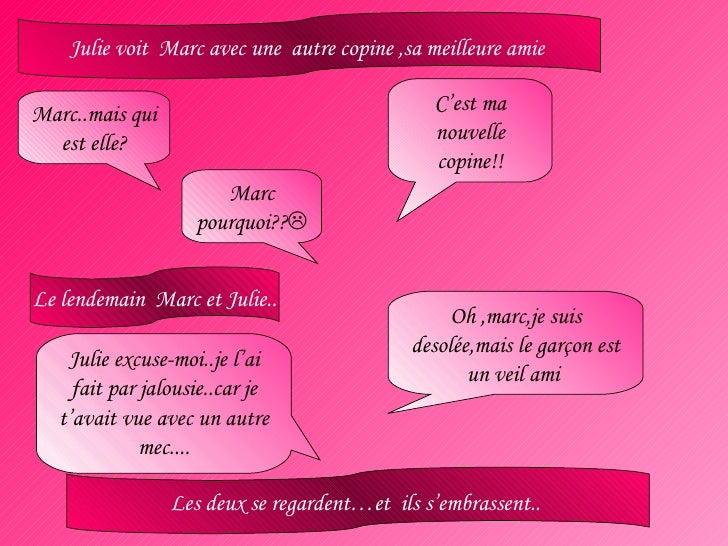 Histoire D'amour-Julie Et Marc-Chiara Valentina B. Beatrice