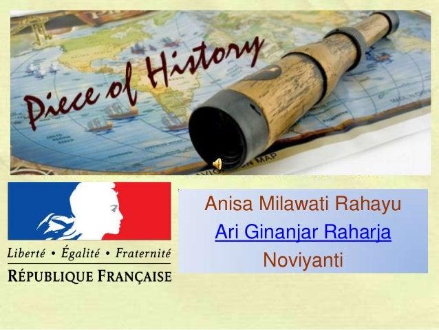 Anisa Milawati Rahayu Ari Ginanjar Raharja Noviyanti