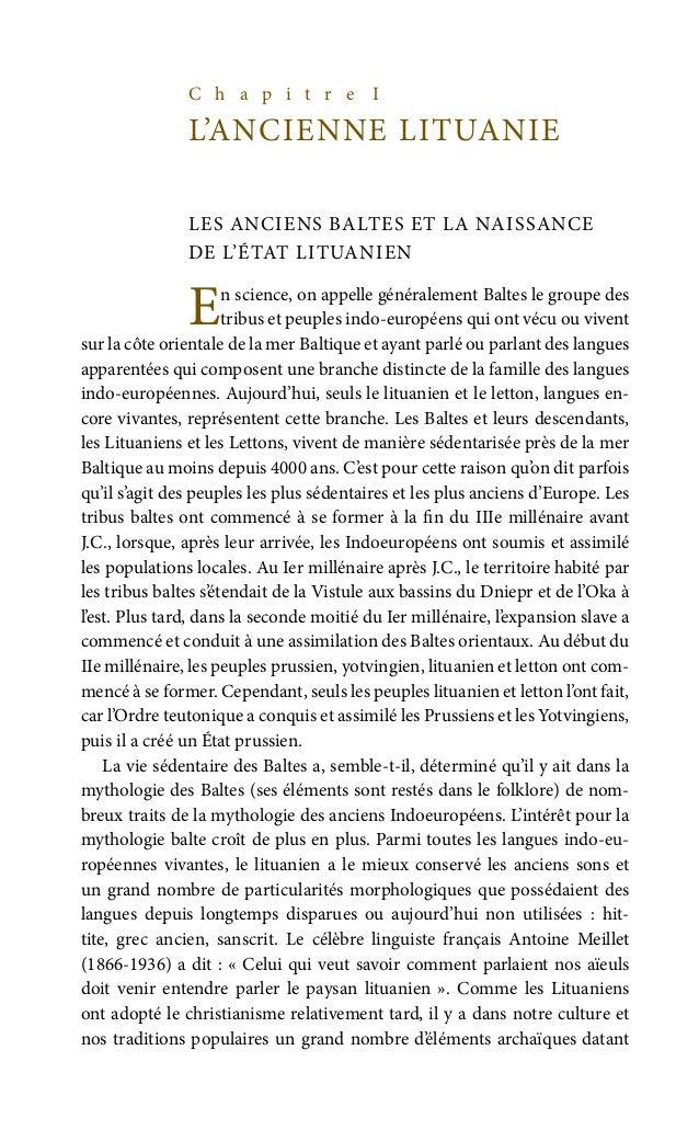 25 de Galicie-Volhynie (d'Ipatiev) en 1252. La géographie mythologique des Lituaniens confirme cette idée de paganisme lit...