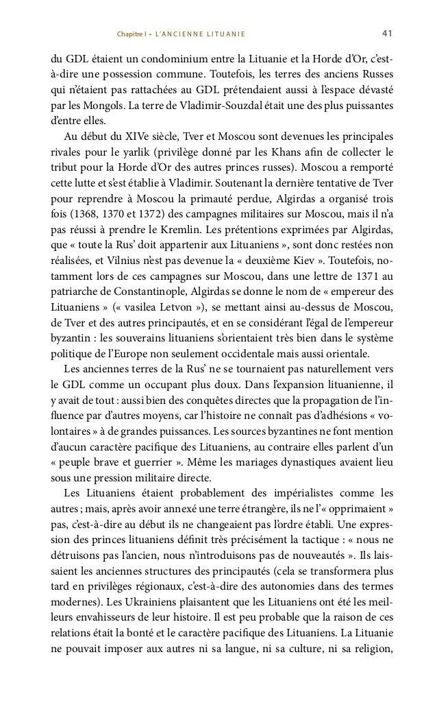 43 de Gediminas dans la «partie ruthène» de Vilnius: au début, certaines femmes des grands-ducs de Lituanie étaient ort...