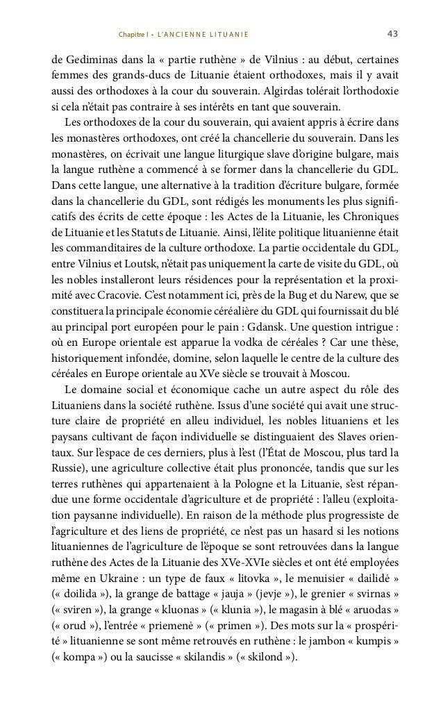 45 cesse polonaise Hedwige et promettait d'introduire la religion catholique en Lituanie, rendre les terres polonaises per...