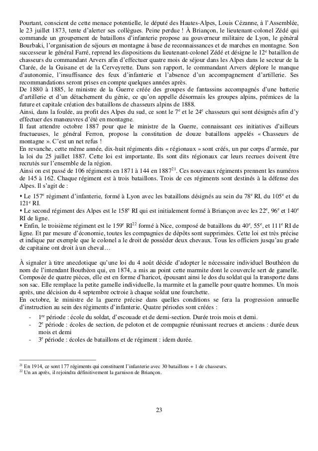 23 Pourtant, conscient de cette menace potentielle, le député des Hautes-Alpes, Louis Cézanne, à l'Assemblée, le 23 juille...