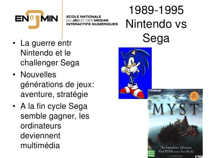 1989-1995                          Nintendo vs • La guerre entr            Sega   Nintendo et le   challenger Sega • Nouve...