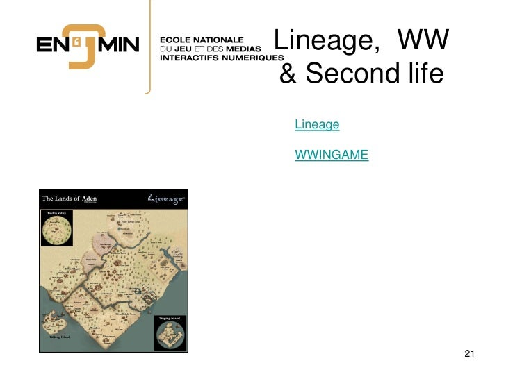 Lineage, WW & Second life  Lineage   WWINGAME                     21