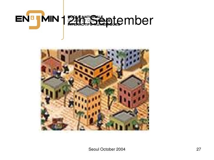 12th September         Seoul October 2004   27