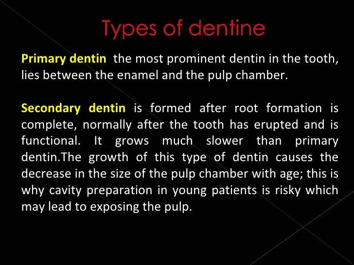 histology of dentin