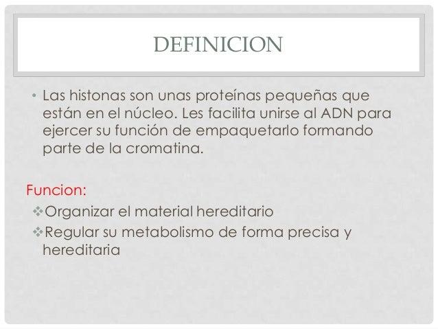 Histonas Slide 3