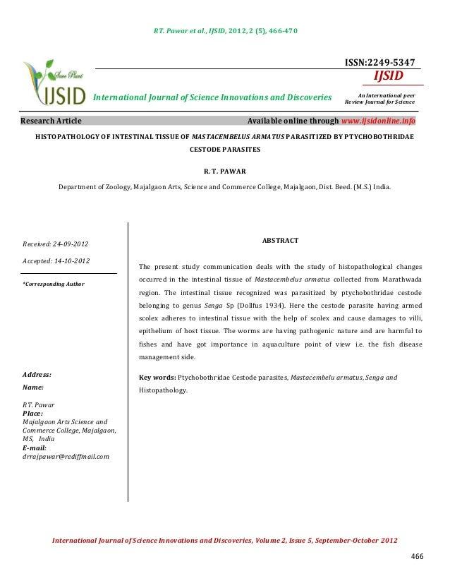 RT. Pawar et al., IJSID, 2012, 2 (5), 466-470                                                                             ...