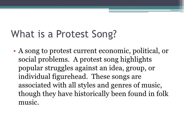 Image result for Protest songs