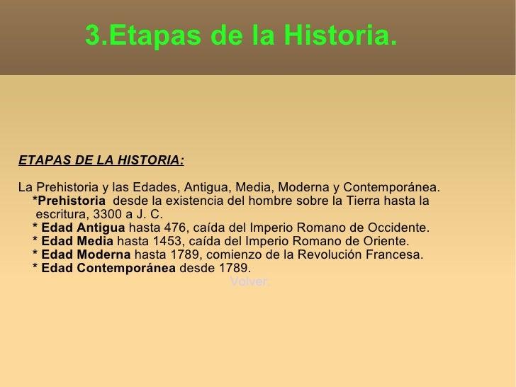 Historia for Epoca contemporanea definicion