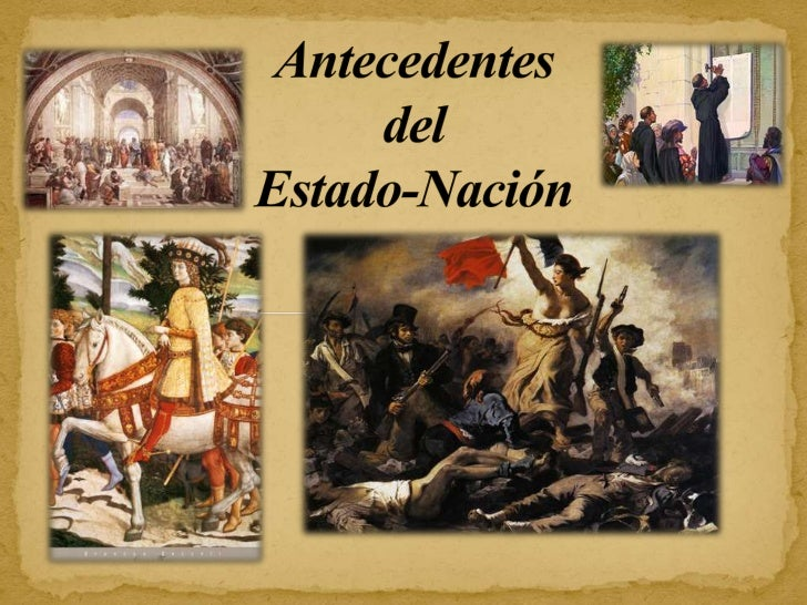 """La unidad política que hoy se conoce como """"Estado - Nación moderno""""tuvo su origen en Europa de fines del siglo XV, como re..."""
