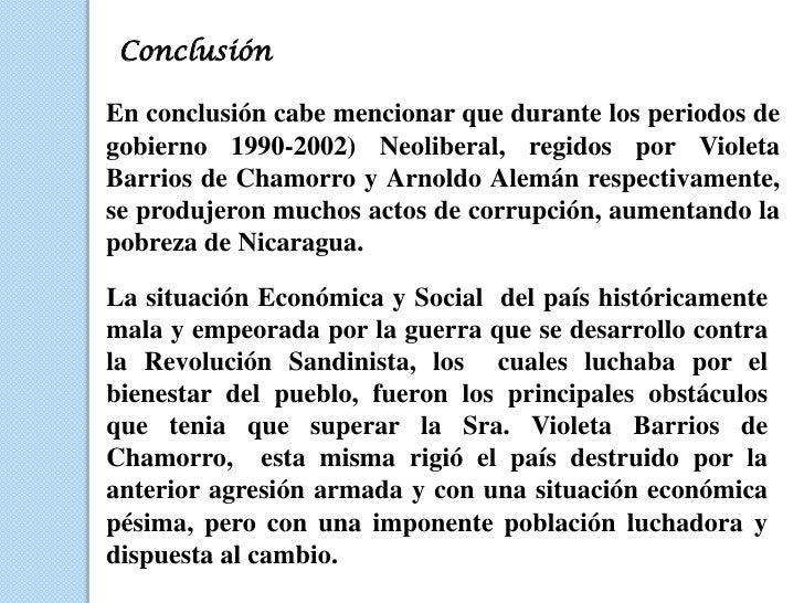 Historia De Nicaragua En Los Anos 90