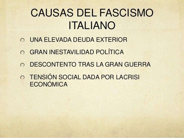 Fascismo Slide 3