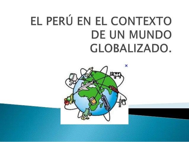  La globalización es un proceso económico, tecnológico, social y cultural a gran escala, que consiste en la reciente comu...