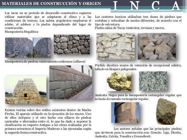 Tecnicas de construcci n inca - Tipos de mamposteria de piedra ...