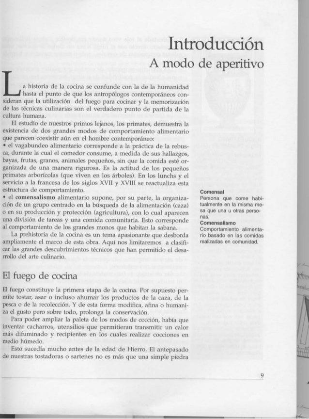 Historia de la cocina francesa pdf for Introduccion a la gastronomia pdf