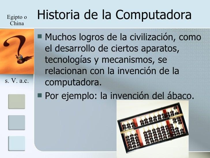 Historia De La Computadora - photo#3