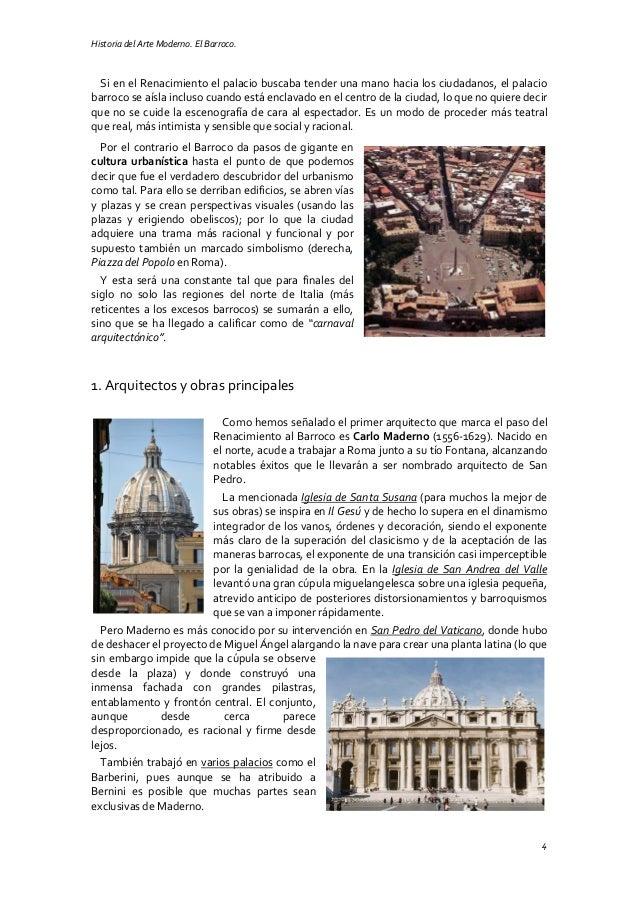 Historia del Arte Moderno. El Barroco. 4 Si en el Renacimiento el palacio buscaba tender una mano hacia los ciudadanos, el...
