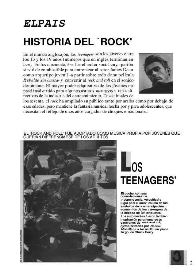 Historia del rock el pa s for Espectaculo historia del rock
