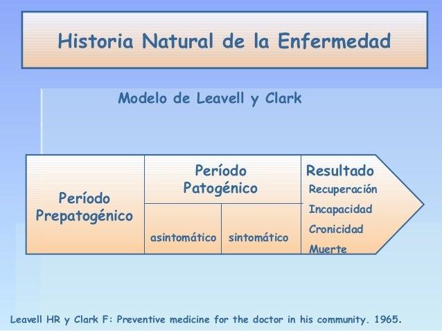 historia natural dela enfermedad leavell y clark pdf