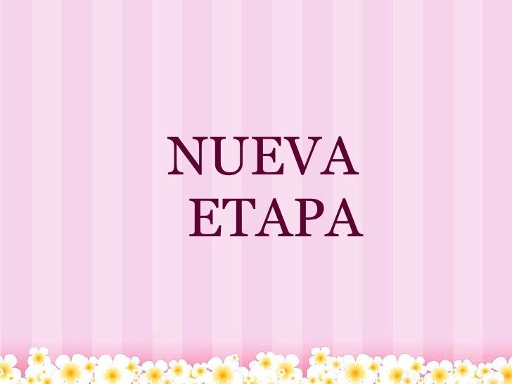 NUEVA  ETAPA
