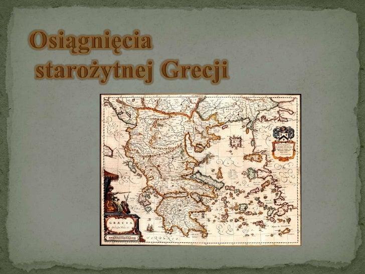 Historia  -  starożytna grecja