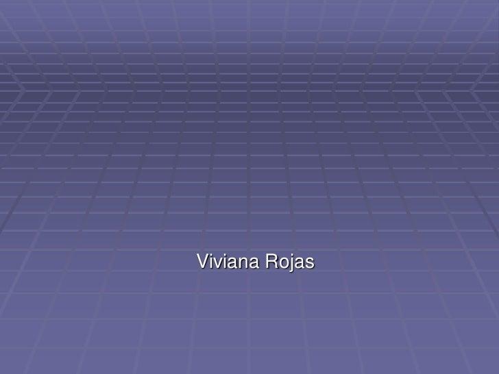 Viviana Rojas<br />