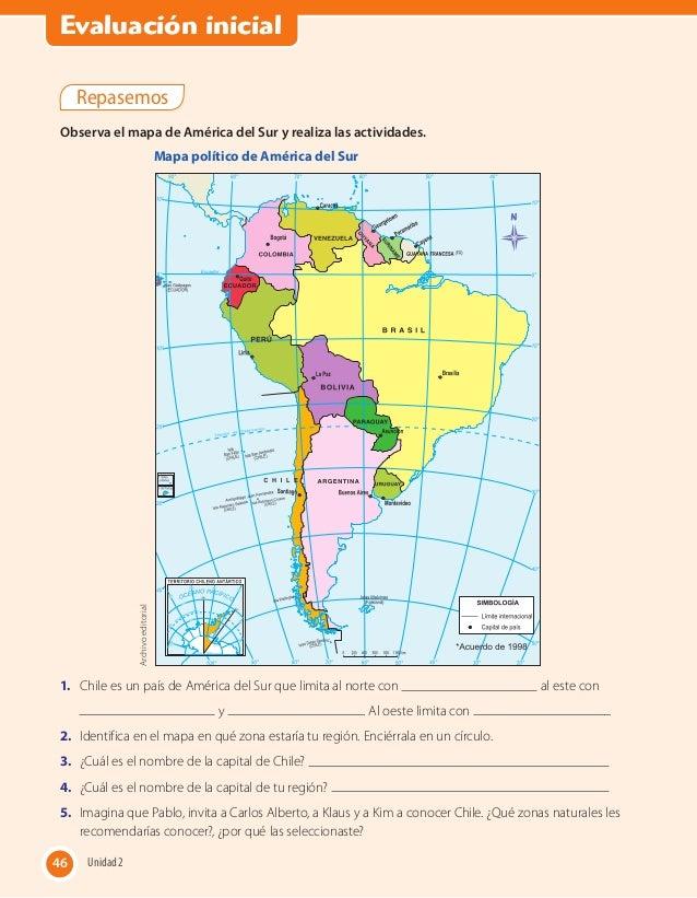 Historia Alumn Opdf: Mapa Politico De America Con La Rosa Delos Vientos At Usa Maps