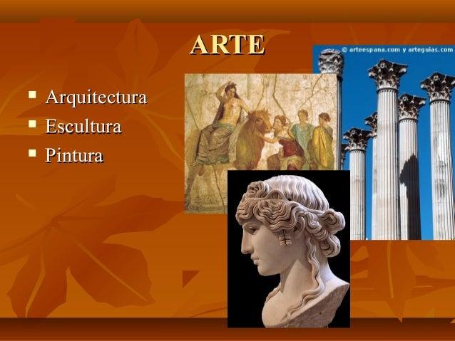 ARTEARTE  ArquitecturaArquitectura  EsculturaEscultura  PinturaPintura