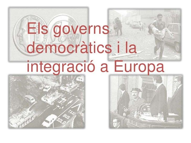La segona legislatura d'UCD i el final del govern de SuárezDesprés de la Constitució el Govern va dissoldre les Corts y va...