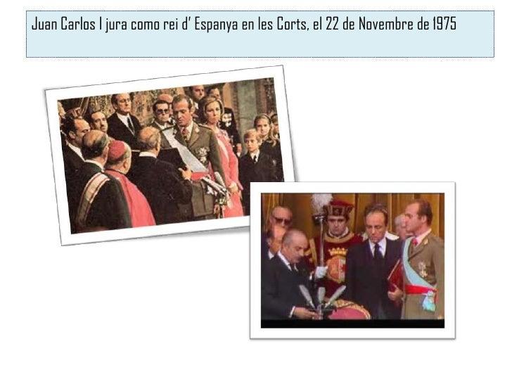 El govern Suárez y la Llei de Reforma Política              Adolfo Suárez (1976)            Provocà un rebuig general     ...