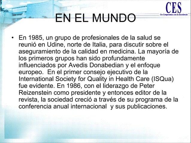 EN EL MUNDO • En 1985, un grupo de profesionales de la salud se reunió en Udine, norte de Italia, para discutir sobre el a...