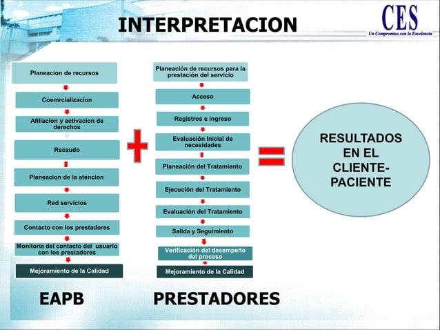 Planeación de recursos para la prestación del servicio Acceso Registros e ingreso Evaluación Inicial de necesidades Planea...