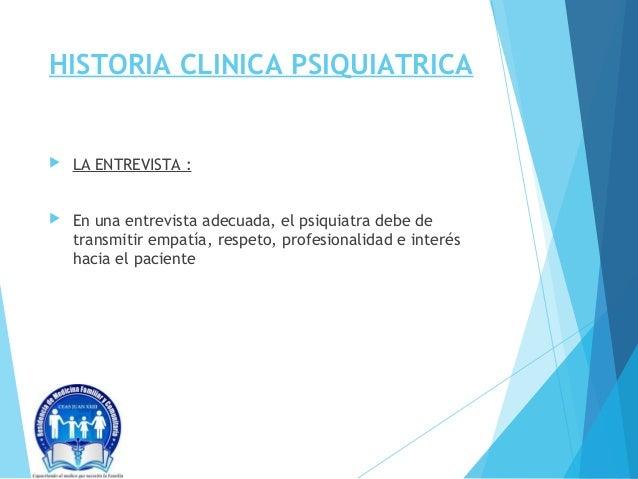 Historia Clinica Psiquiatrica Slide 2