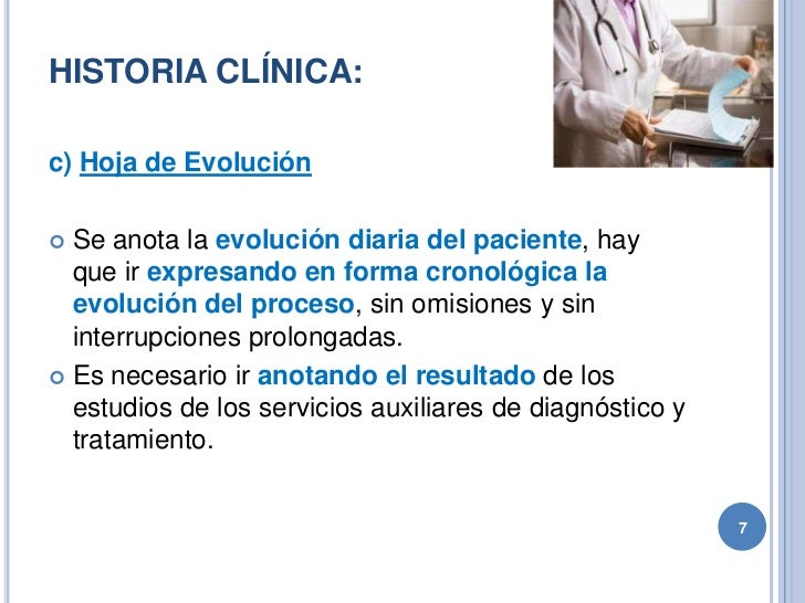 Historia clínica, documento medico legal