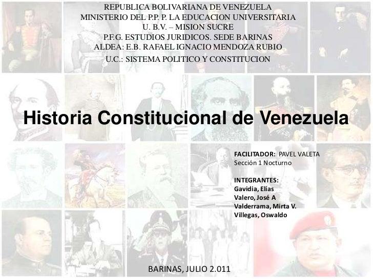 REPUBLICA BOLIVARIANA DE VENEZUELA<br />MINISTERIO DEL P.P. P. LA EDUCACION UNIVERSITARIA<br />U. B.V. – MISION SUCRE<br /...