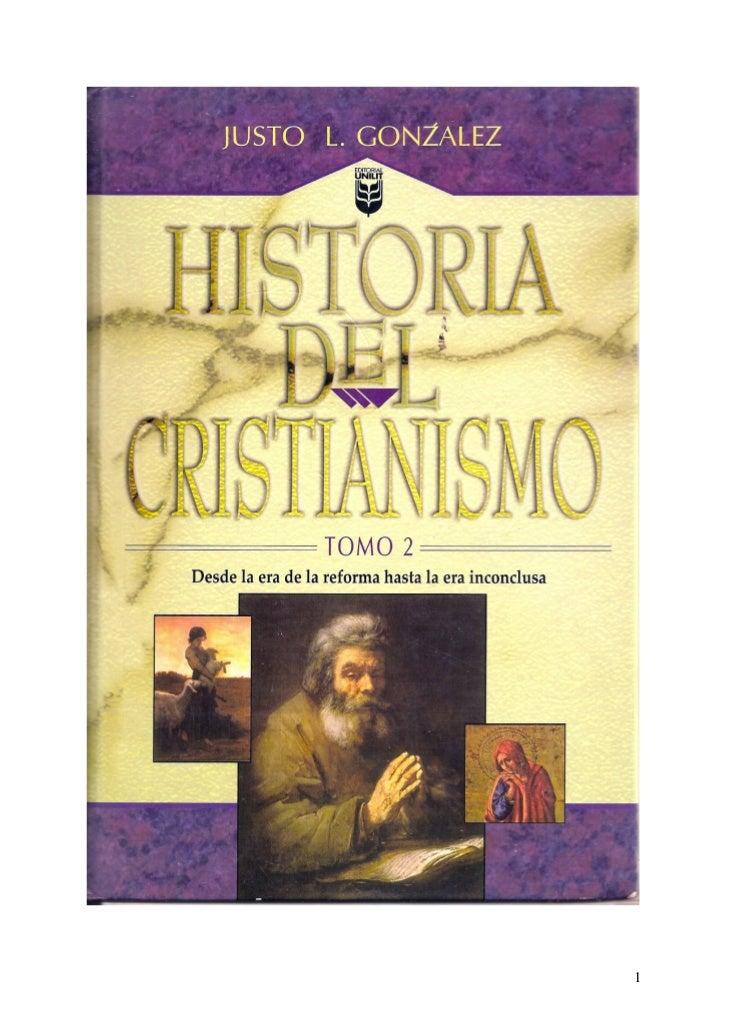 justo l gonzalez historia del cristianismo pdf