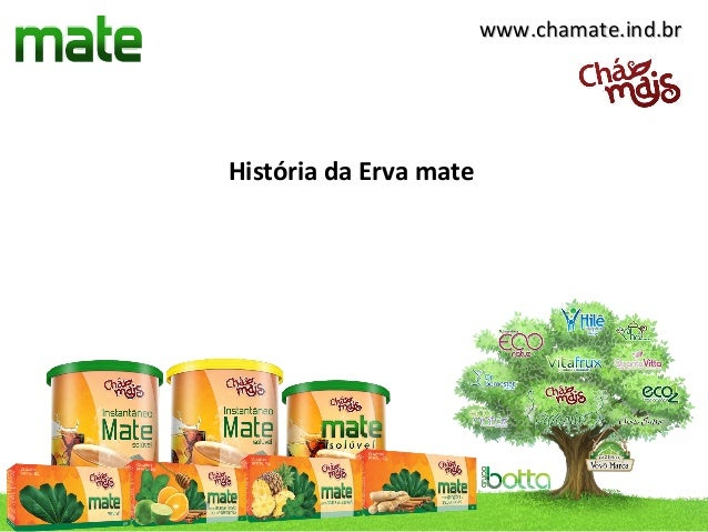 www.chamate.ind.brHistória da Erva mate