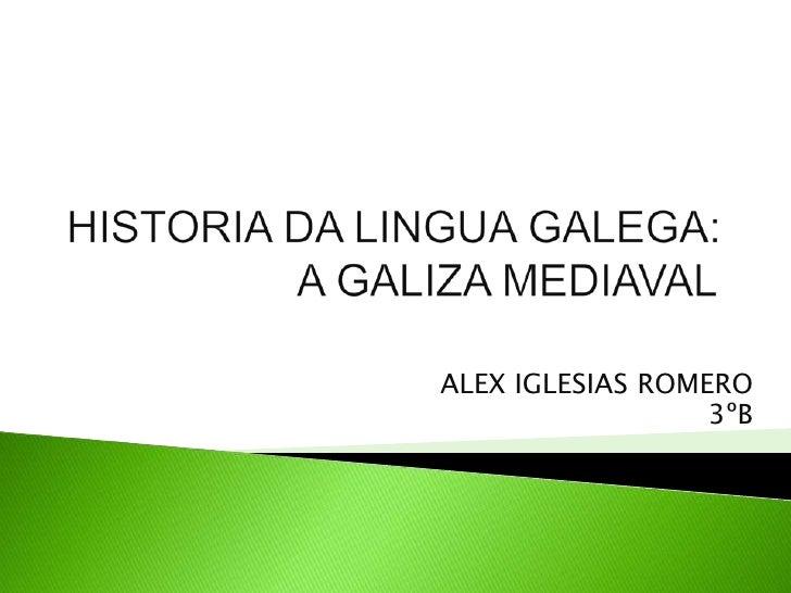 ALEX IGLESIAS ROMERO                  3ºB