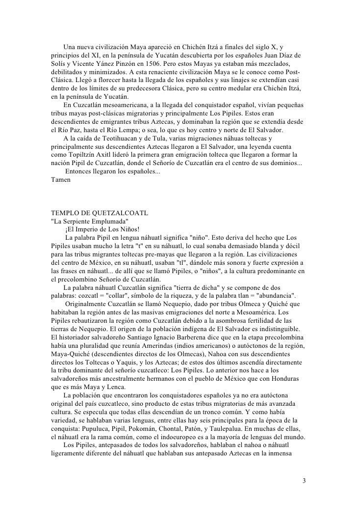 Historia De El Salvador Slide 3