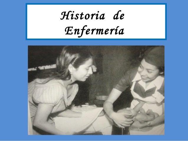 Historia deEnfermería